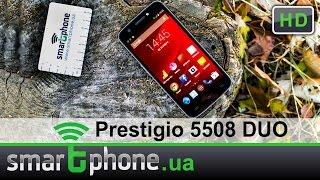 Prestigio Multiphone 5508 DUO - Обзор смартфона. Флагман 2014.