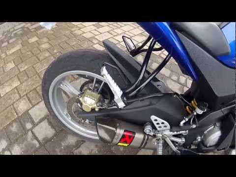 Yamaha YZF R125 Akrapovič sound