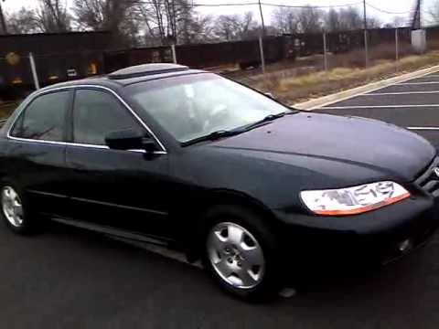 2001 Honda Accord Ex V6 Review Start Up Amp Rev Interior