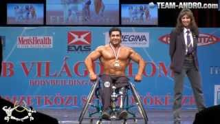 Wheelchair Bodybuilding open class World Championships 2012