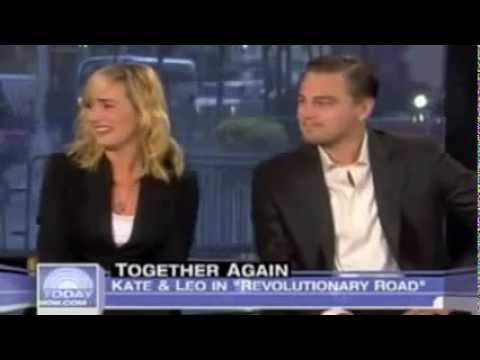 Kate Winslet And Leonardo Dicaprio Interview At The Today Show - Enjoy Watching video