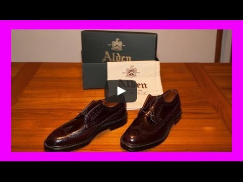 Alden 975 LongWing Shell Cordovan Blucher Shoes