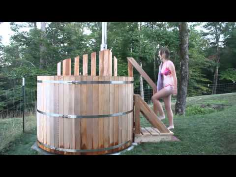How To Build A Jacuzzi Hot Tub Wood Fired Sunline Pool