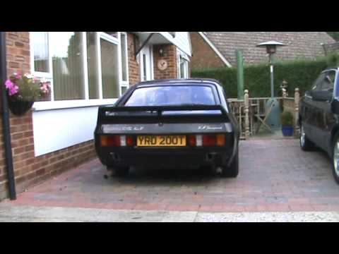 Ford Capri WM Developments 32 Very Very rare car been off road since 2002