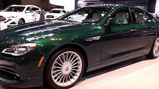 2019 BMW Alpina B6 Gran Coupe Marketed from 2018 Edition Design Special First Impression Lookaround