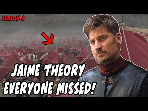 The Jaime Theory EVERYONE Missed! Game Of Thrones Season 8