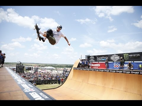Pierre-Luc Gagnon wins gold in X Games Skateboard Vert - ESPN