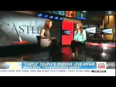 Stana Katic Interview on CNN - Starting Point April 2nd, 2013
