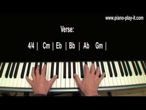 Jar of Hearts Piano Tutorial Christina Perri