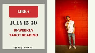 "LIBRA - ""SPECIAL RED THREAD CONNECTING THE TWO OF YOU"" JULY 15-30 BI-WEEKLY TAROT READING"