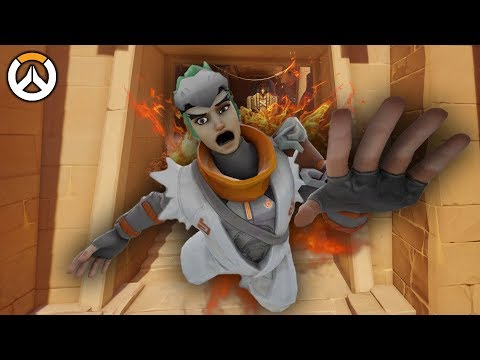 OVERWATCH ► FUNNIES, FAILS & CRAZY MOMENTS #73