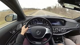 2017 Mercedes Benz S550 - POV Test Drive (Binaural Audio)