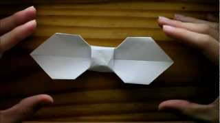 Origami Bow (tutorial)