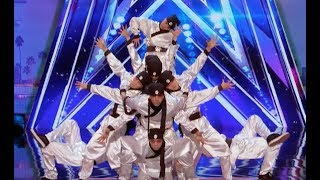 Just Jerk With Their Perfect Timing Performance   Week 4   America's Got Talent 2017