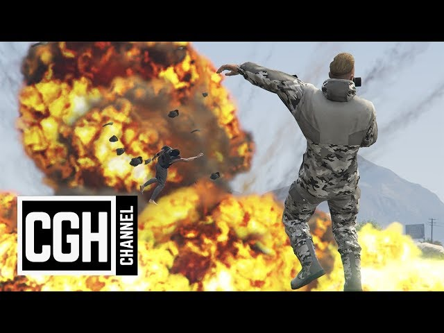 Surviving an Orbital Cannon - GTA Online
