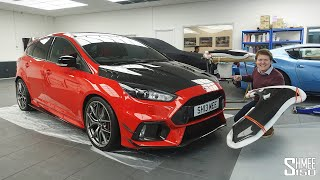 TRANSFORMING My Red Focus RS with New Carbon Parts! | PROJECT PART 12