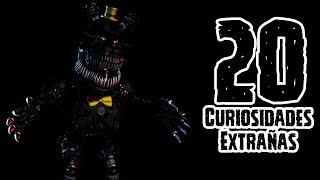 TOP 20: 20 Curiosidades Extrañas De Nightmare En Five Nights At Freddy