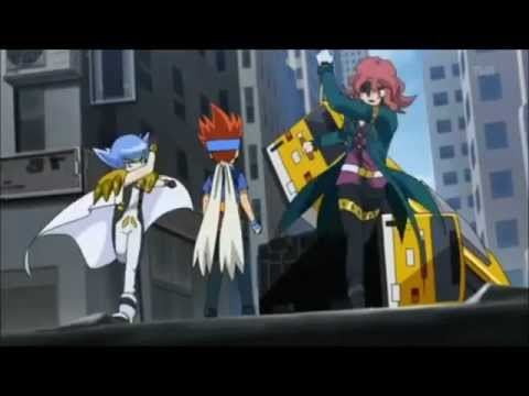 Beyblade Team Brazil.America.Gravity Perseus.vs Team Japan.China . Africa and Flame Sagittario