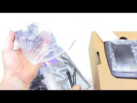 Garmin Fishfinder 350c Unboxing HD (010-01044-01)