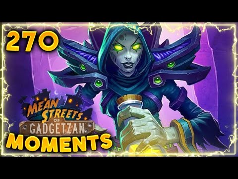 Crazy Priest Combo!! | Hearthstone Gadgetzan Daily Moments Ep. 270 (Funny and Lucky Moments)