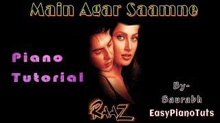 download lagu Main Agar Saamne - Raaz - Piano gratis