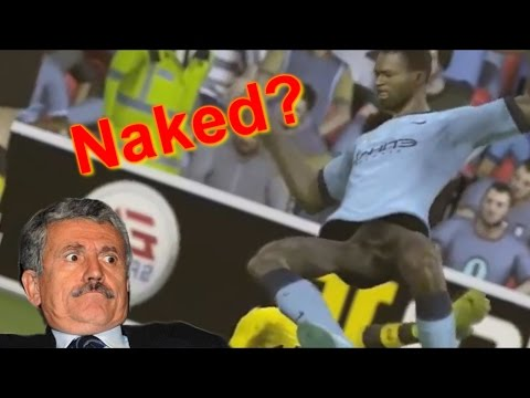 Naked Players In Fifa 15? - Bugs And Glitches video