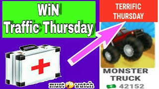 Mpl monster truck trick || win traffic Thursday || score unlimited with hack trick || must watch...