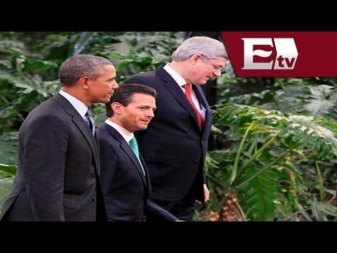 Cumbre Toluca 2014: Empresarios y figuras políticas asisten al evento / Titulares de la noche