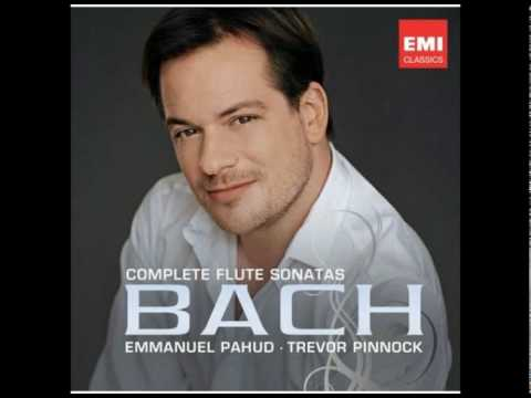 Emmanuel Pahud Bach Sonata in e flat major bwv 1031
