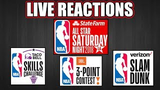 All-Star Saturday Night 2018 Live Reactions