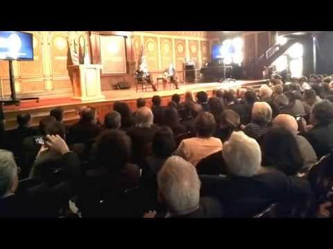 CI MENA covers Italian Prime Minister Matteo Renzi discussing Libya at Georgetown University