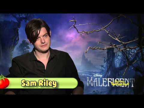 Elle Fanning, Sam Riley, & Sharlto Copley of Maleficent