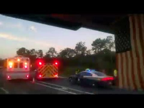 Motorcycle Crash On I-75 (2/25/16)