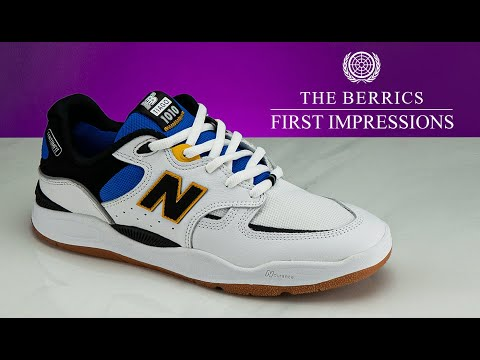 See How The New Balance Numeric Tiago 1010 Skates | First Impressions