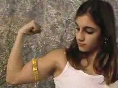 Fbb Bicep Measuring http://www.blingcheese.com/videos/3/bicep+girl.htm