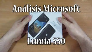 Análisis Lumia 550 con Windows 10 Mobile