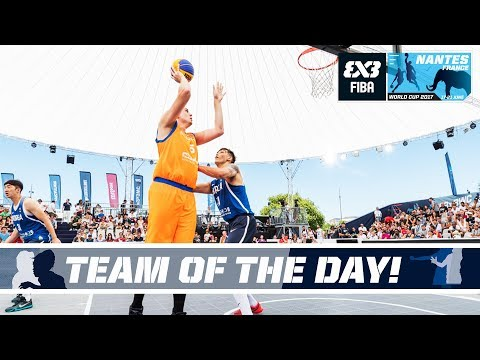 Undefeated Netherlands - Team of the Day - FIBA 3x3 World Cup 2017