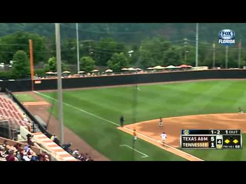 05/18/2013 Texas A&M vs Tennessee Baseball Highlights