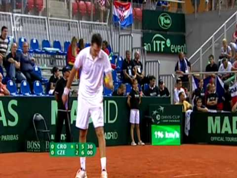 Man beats training cannon Karlovic world record-most aces in one NOT INSANE match Video