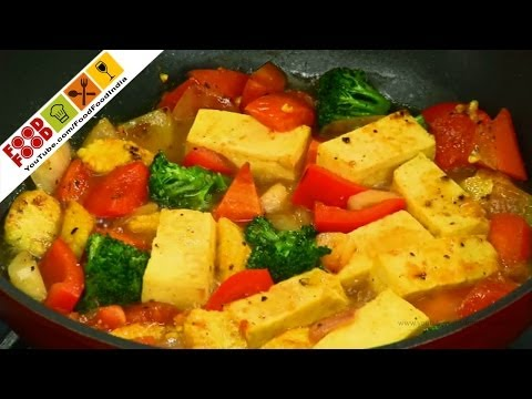 Curried Tofu With Vegetables | Food Food India - Fat To Fit | Healthy Recipes
