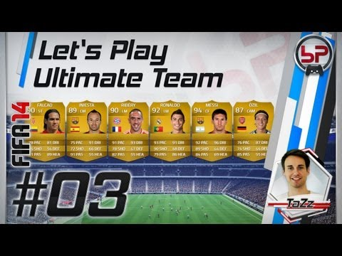 FIFA 14 | Let's Play Ultimate Team #3 | Starter Team Squad-Building No. 2 & Gameplay | bPartGaming