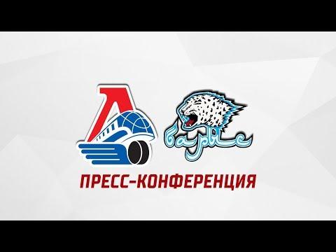 «Локомотив» - «Барыс»: пресс-конференция