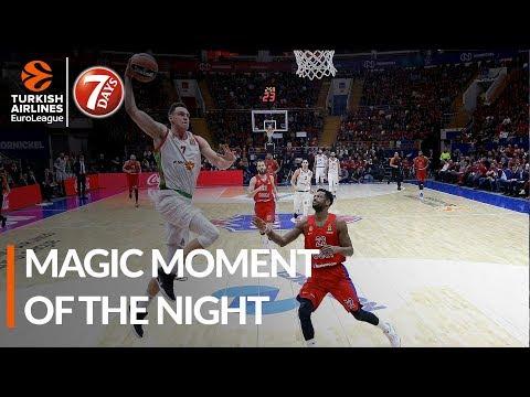 7DAYS Magic Moment of the Night: Johannes Voigtmann, KIROLBET Baskonia Vitoria-Gasteiz