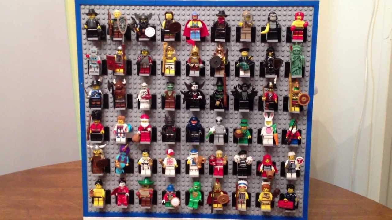 Lego Custom Minifigure Display Youtube