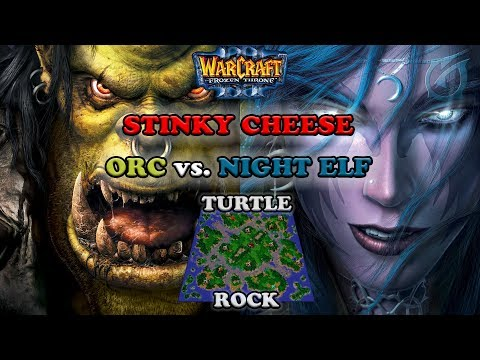 Grubby | Warcraft 3 The Frozen Throne | Orc v NE - Stinky Cheese  - Turtle Rock
