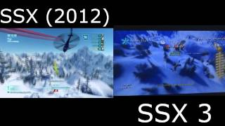 SSX 3 Level Hidden in SSX (2012)!!!! (Gameplay + Commentary) (HD)