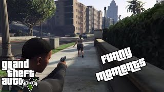 GTA 5 (PC) GT 650M / 8 GB RAM / i7-3630QM / 8 CPU Gameplay : NOT SO FUNNY MOMENTS!!