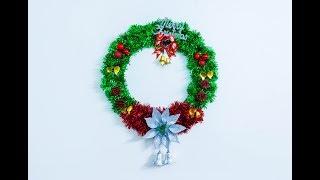 How to Make Christmas Wreath / DIY Christmas Tree🌲/Christmas Decorations Idea