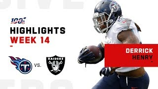 Derrick Henry Breaks Away for 103 Yds & 2 TDs | NFL 2019 Highlights