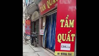 Những quán tẩm quất phục vụ từ A đến Z ở Hà Nội hoạt động ra sao? Ly kỳ chuyện PV tác nghiệp thực tế
